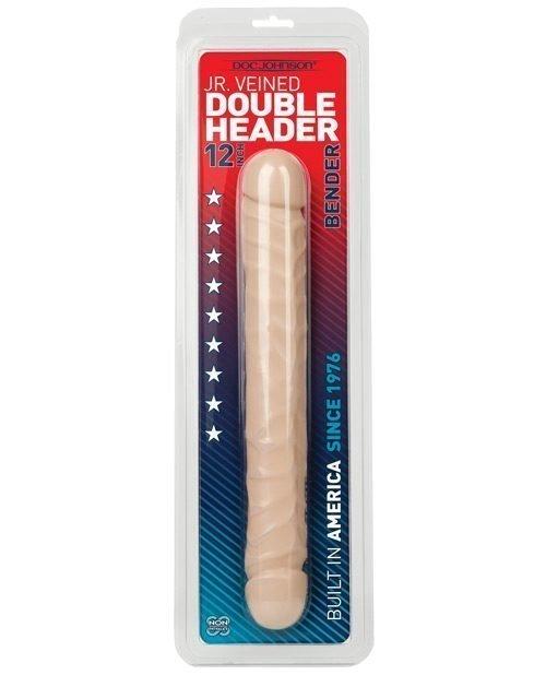 """12"""" Jr. Double Header Bender - White"""