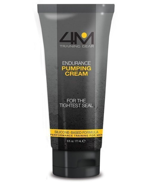 4M Training Gear Endurance Silicone Pumping Cream - 6 oz Clear