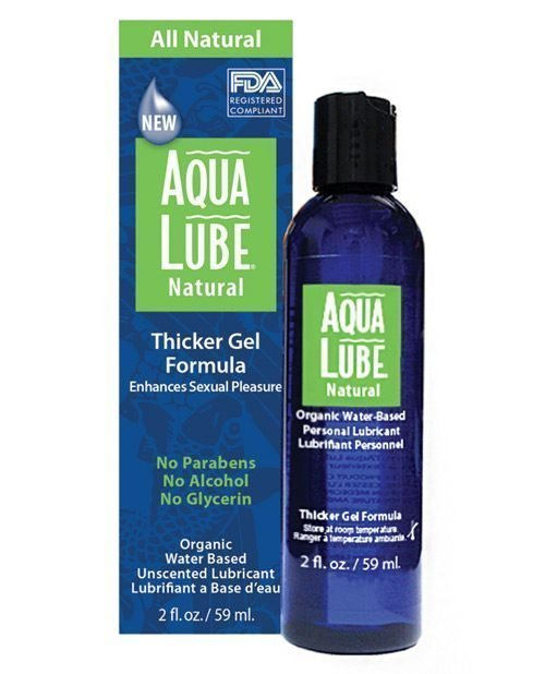 Aqua Lube Natural 2 oz Bottle