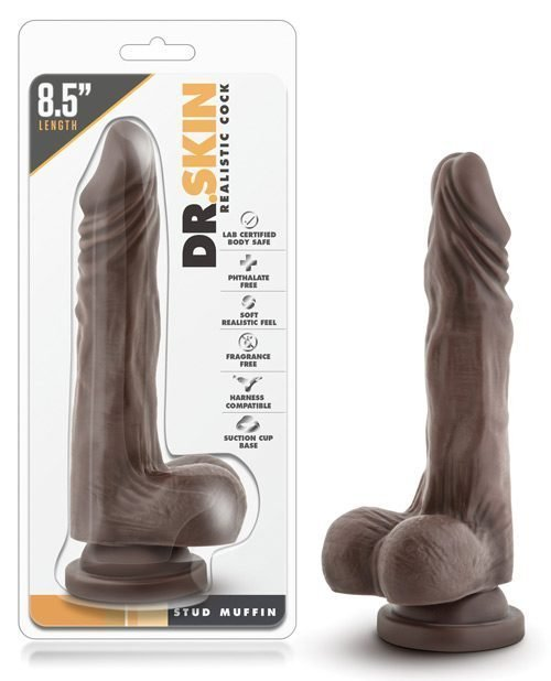 Blush Dr. Skin Mr. Skin Stud Muffin - Chocolate