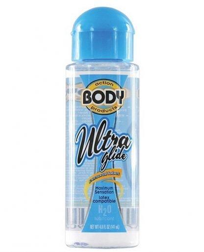Body Action Ultra Glide Water Based - 4.8 oz Bottle