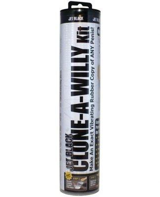 Clone-A-Willy Kit Vibrating - Jet Black
