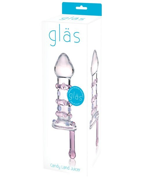 Glas Candy Land Juicer Glass Dildo