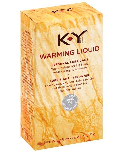 K-Y Warming Liquid - 2.5 oz
