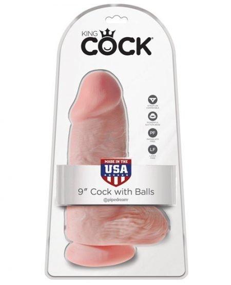 "King Cock 9"" Chubby - Flesh"