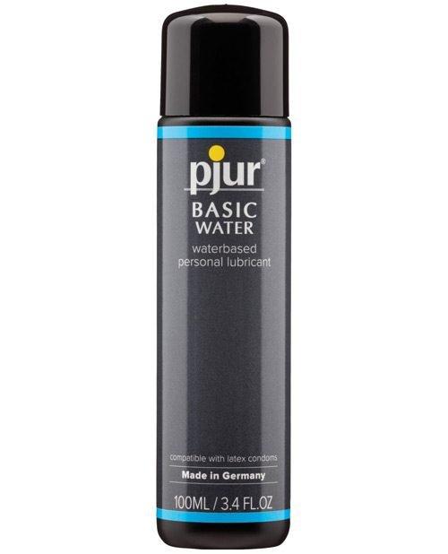 Pjur Basic Water Based Lubricant - 100 ml Bottle