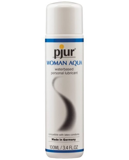 Pjur Woman Aqua Water Based Personal Lubricant - 100 ml Bottle