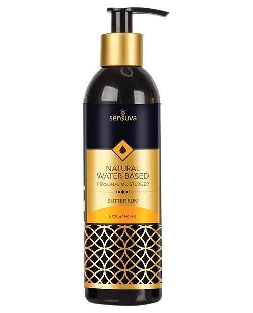 Sensuva Natural Water Based Moisturizer - 8.12 oz Butter Rum