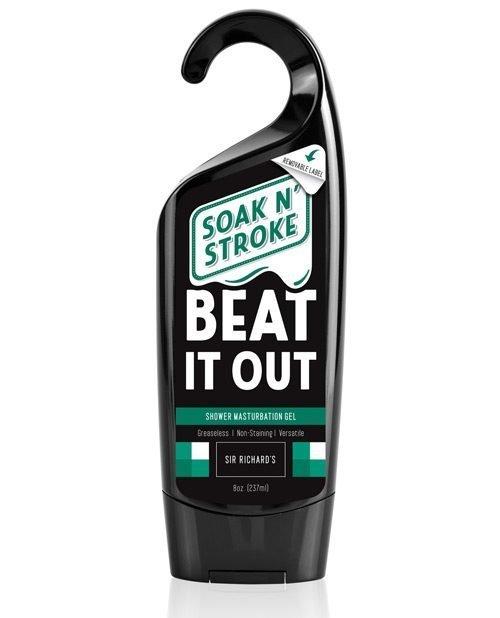 Sir Richard's Soak N' Stroke Beat It Out Shower Masturbation Gel - 8 oz.