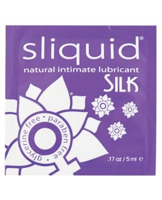 Sliquid Naturals Silk - .17 oz Pillow