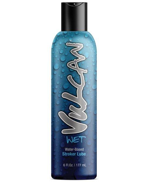 Vulcan Wet Water Based Stroker Lube - 6 oz