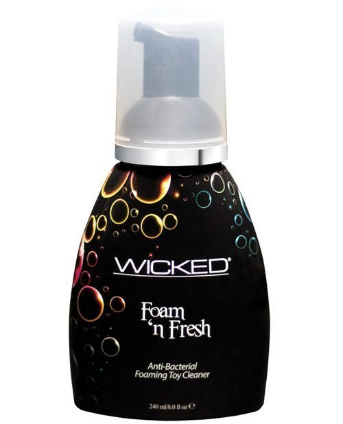 Wicked Sensual Care Foam N Fresh Anti-Bacterial Foaming Toy Cleaner - 8 oz