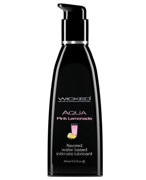 Wicked Sensual Care Waterbased Lubricant - 2 oz Pink Lemonade