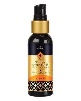 Sensuva Natural Water Based Personal Moisturizer - 1.93 oz Orange Creamsicle