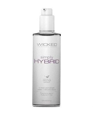 Wicked Sensual Care Simply Hybrid Lubricant - 4 oz