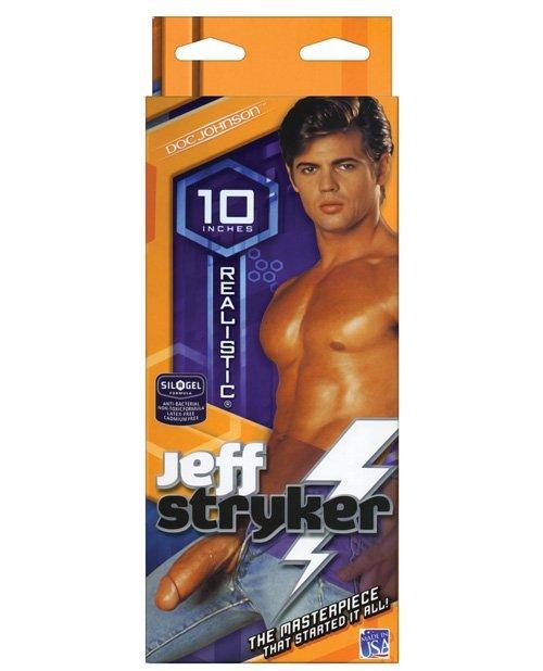 """Jeff Stryker 10"""" Realistic Cock - Flesh"""