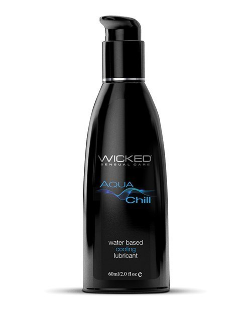 Wicked Sensual Care Aqua Chill Water Based Cooling Lubricant - 2 oz