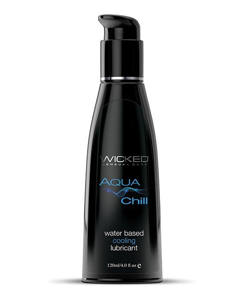 Wicked Sensual Care Aqua Chill Water Based Cooling Lubricant -  4 oz