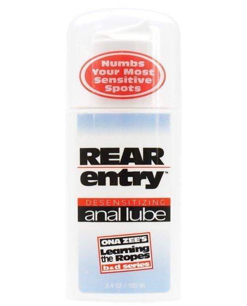 Rear Entry Desensitizing Anal Lube - 3.4 oz