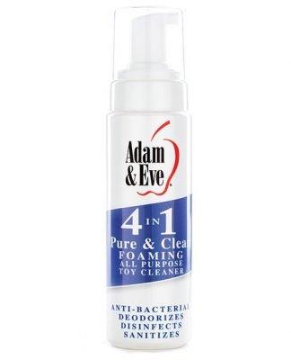 Adam & Eve 4 In 1 Pure & Clean Foaming Cleaner - 8oz