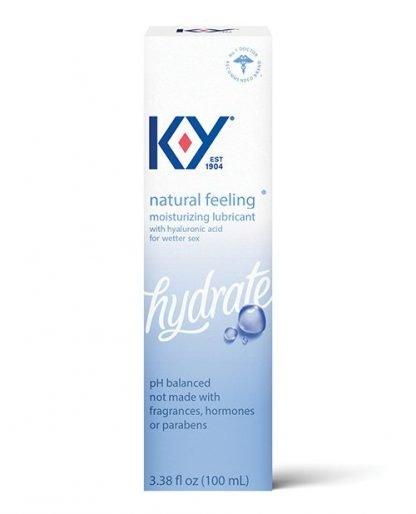 K-Y Natural Feeling w/Hyaluronic Acid - 3.38 oz